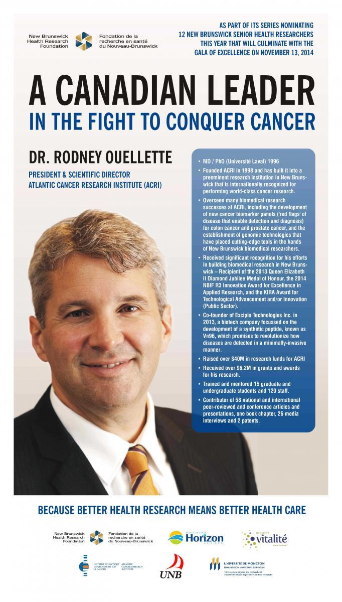 Rodney J. Ouellette | MD, PhD | Atlantic Cancer Research ...